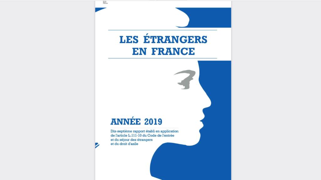 étrangers en France en 2019