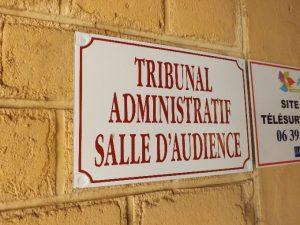 procédure au tribunal administratif